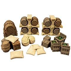 EXTRUDED GAMING TERRAIN SETS - are manufactured using Exotic Composite Materials giving their gaming terrain pieces the look and feel of Real Wood and Real Stone. This means they are ready to use with no painting required. Straight out of the box and...