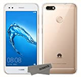 Sunrive Funda para Huawei Y6 Pro 2017 / P9 Lite Mini, Silicona Funda Slim Fit Gel Transparente Carcasa Case Bumper de...