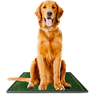 Ideas In Life Dog Potty Grass Pee Pad – Artificial Pet Grass Patch for Dogs