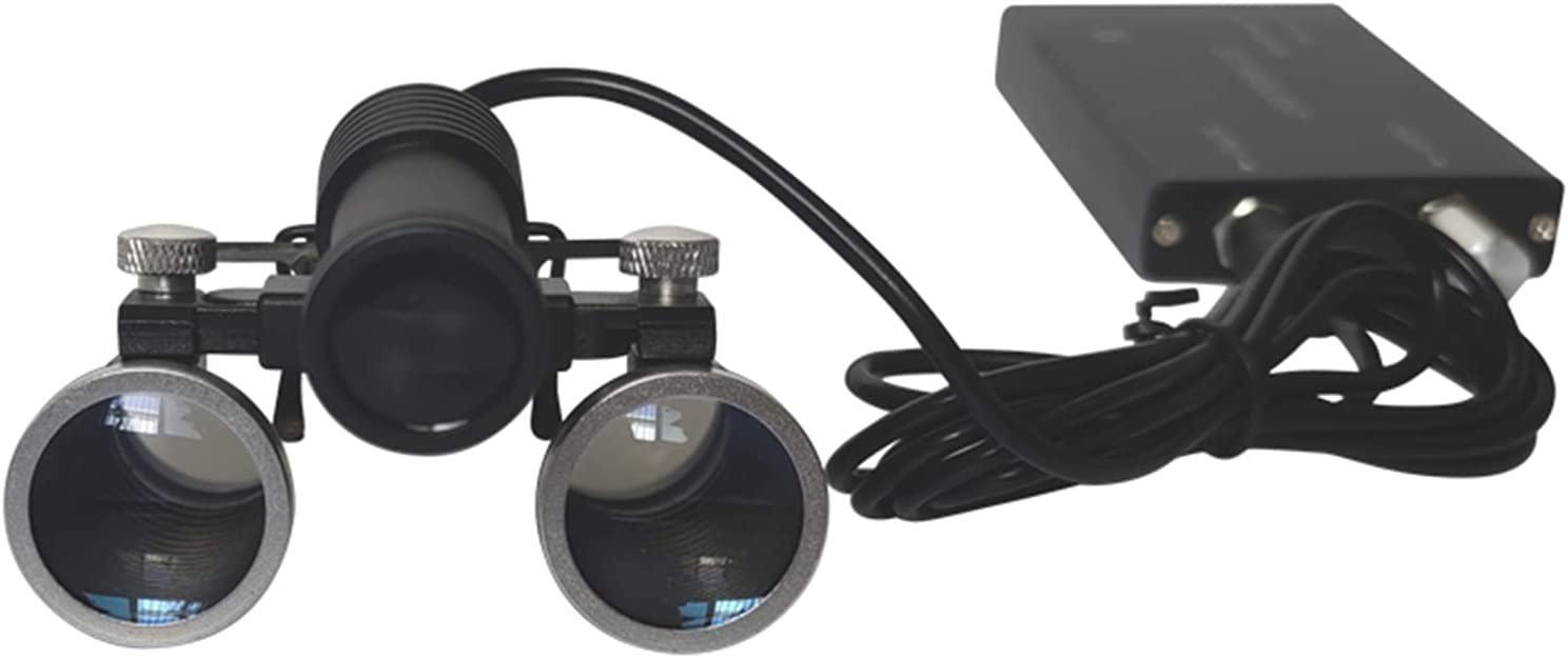 Dental El Paso Mall Surgical Superior Medical Binocular Loupes 2.5X 3.5X Optic 420mm