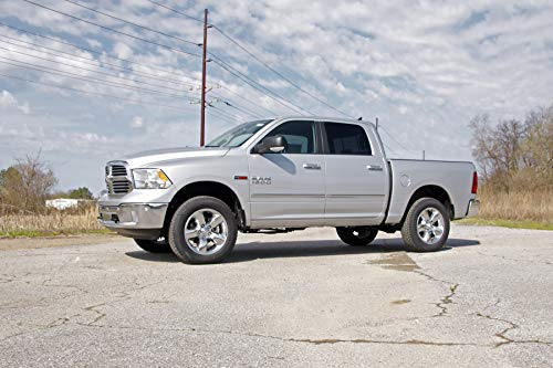 fits Rough Country Premium N3 Rear Shock Absorber Pair 23141/_N 2002-2018 Ram 1500 w// 0-2.5 Lift