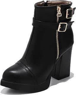 BalaMasa Womens ABS14185 Pu Boots