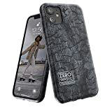 Wilma Biodegradable Compatible with iPhone 11 Case, Zero Waste, Shockproof Protective Phone Cover, Eco Friendly, Stop Plastic Pollution, Plastic Free Case, Coal