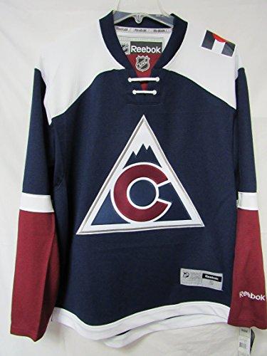 Reebok Colorado Avalanche Premier Alternate Team Jersey (Navy) M