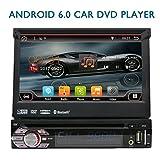 Eincar 2 GB di RAM Android Stereo 6.0 singolo di baccano 1 DIN Unit¨¤ di testa Autoradio DVD lettore CD incorporato WIFI Supporto Online e Offline GPS Sat Nav, DAB +, telefono Mirroring, Radio FM AM,