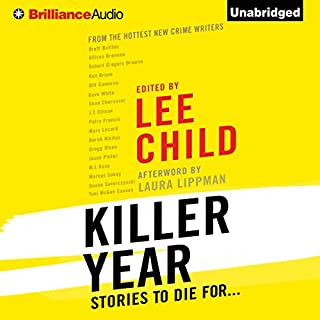 Killer Year audiobook cover art