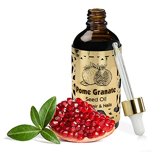 R&M Beauty-Oleo Granatapfelkern-Öl - Bio Granatapfel-Öl für Gesicht & verbessertes Haut-Bild - bekämpft Akne & Haarausfall - Natur-Kosmetik - 100ml