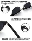 Zoom IMG-2 gqueen occhiali da sole uomo