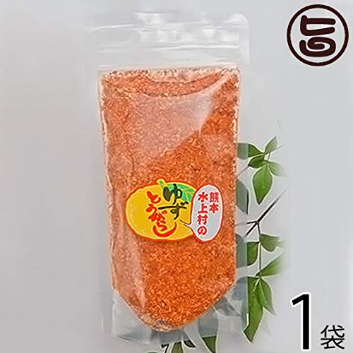 ゆずとうがらし 袋入り 100g×1袋 たけうち 厳選した熊本・水上村産の柚子の皮を贅沢に使用 薫り高いユズ皮のコクのある唐辛子 一味や七味唐辛子の代わりに