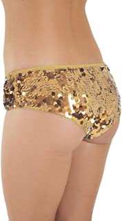 Western Fashion Paillette Booty Shorts