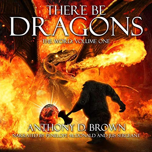 There Be Dragons audiobook cover art