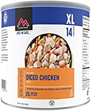 Mountain House Cooked Diced Chicken | Freeze Dried Survival & Emergency Food | #10 Can | Gluten-Free