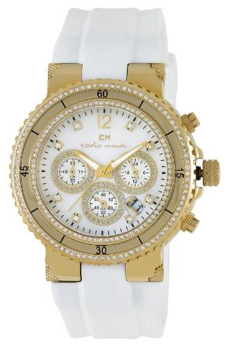 Carlo Monti Damen-Armbanduhr Carrara Analog Silikon CM202-286