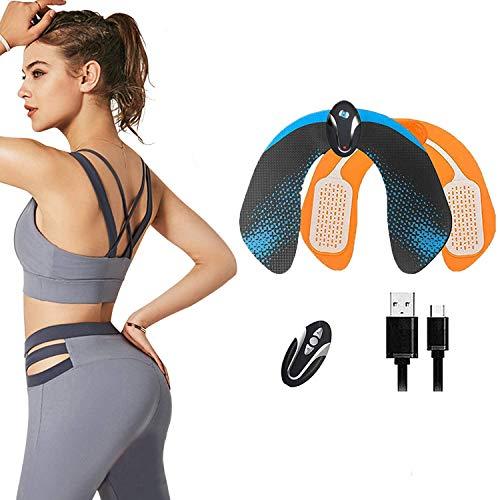 Electroestimulador Muscular Gluteos,EMS Electroestimulador Gluteos,Estimulador Muscular Ejercitar Gluteos USB Recargable