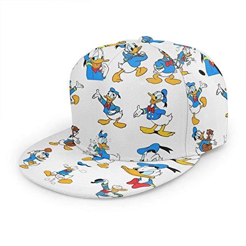 LREFON Don Donald Fauntleroy Ente Baseball Cap Männer Frauen Verstellbare Snapback Fitted Cap Professional Hut
