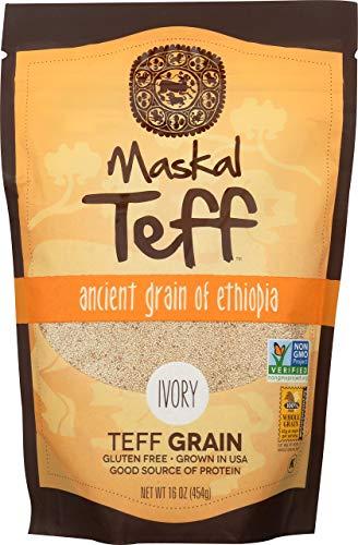 Maskal Teff, Ivory Grain, 16 Ounce
