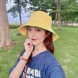 wtnhz Artículos de Moda Marca de Moda Cara Salvaje pequeña Visera Japonesa Cubierta de protección Solar Cara Sombrero para el Sol Sombrero de Lavabo para hombresRegalo de Vacaciones