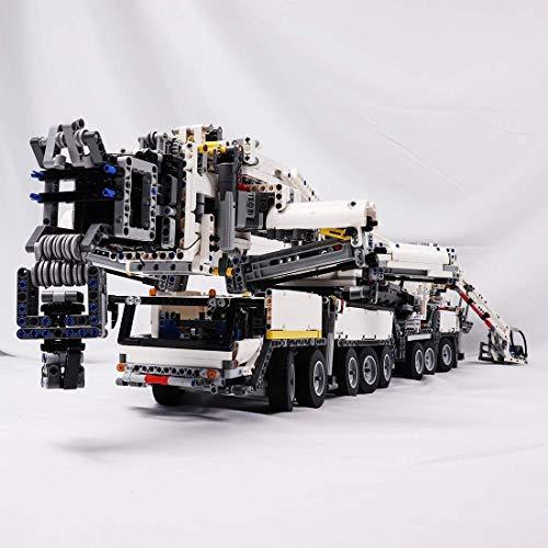 LSOGO 7692 stuks Kran Custom Bouwstenen Model - MOC Technik Liebherr Kran Bauspielze Compatibel met grote merken