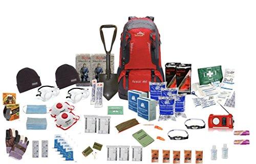 TSK Medical Ltd Zwei Person, Notgepäck Fluchtrucksack- Rot