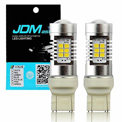 JDM ASTAR Super Bright PX Chips 7440 7441 7443 7444 White Backup Reverse LED Bulbs