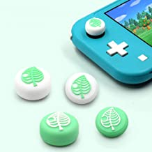 TAACOO Thumb Grip Caps, 4 PCS Animal Crossing Tree Leaf Soft Silicone Joystick Cover for Nintendo Switch & Switch Lite Joy...