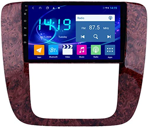 El jugador estéreo del navegador de automóviles es adecuado para la locomotora de pantalla grande Multimedia GPS Navigator 4G + 64G modificado por GMC 2007-2012 Sistema de control central de Android