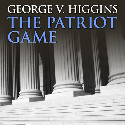 The Patriot Game audiobook cover art