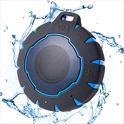 iJoy Bath Bomb Premium Waterproof Bluetooth Wireless Floating Speaker | Shower Speaker | Outdoor...