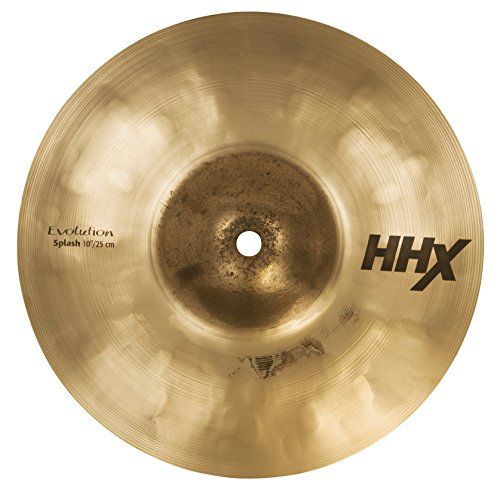 Sabian HHX 10' Evolution Splash Cymbal, Brilliant Finish