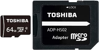 東芝 microSDXCカード 64GB Class10 UHS-I対応 (最大転送速度48MB/s) 国内正規品 Amazon.co.jpモデル THN-MW64G4R8