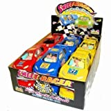 Sweet Racer Pull Back Action Candy Filled Cars (1 Box, 12 Cars)