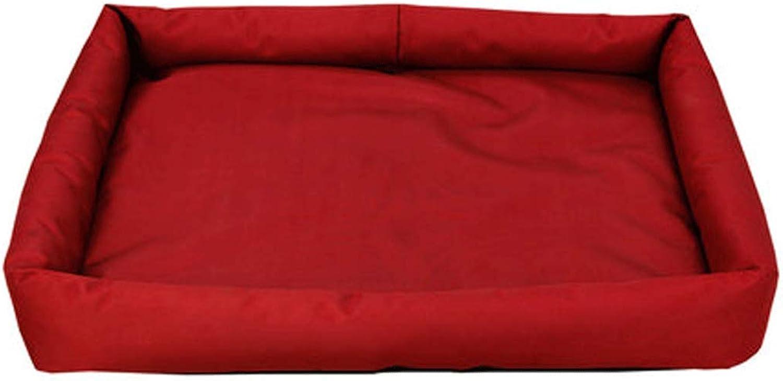 Dog mat cat Kennel mat pet Cotton pad Blanket Blanket Quilt bite Resistant Winter Four Seasons Supplies (color   D, Size   S)