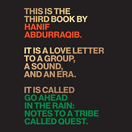 Go Ahead in the Rain Audiobook By Hanif Abdurraqib cover art