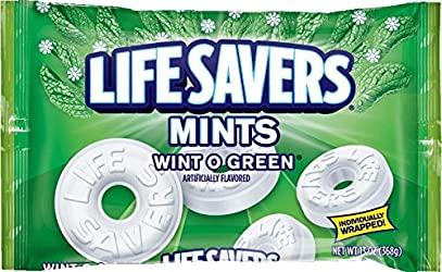 Life Savers Wint O Green Mints Candy Bag, 13 ounce
