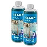 CEMEX 2x 1000 ml SET (7002) - Entkalker für Kaffemaschinen Wasserkocher Waschmaschinen Duschkabinen...