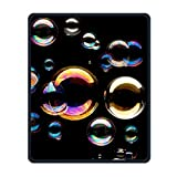 Dreamy Bubble Portable Gaming Mouse Pad Comfortable Non-Slip Base Durable Stitched Edges 7.08 X 8.66 Inch, 3mm Thick