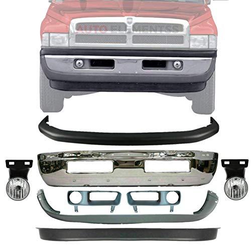 01 dodge ram 1500 front bumper - 6