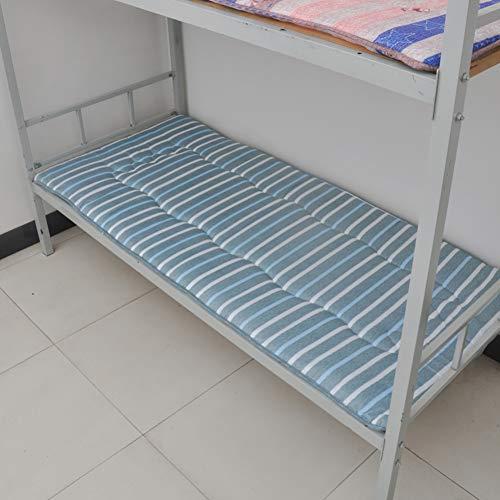 fgdsa Gepolsterte Schlafsaal Etagenbett Matratze,Falten Single Studentenwohnheim Tatamimatte,Nicht-Slip Multi-Funktionelle Bodenschlafmatte-i 90x200cm(35x79inch)
