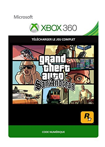 GTA: San Andreas [Xbox 360 - Code jeu à télécharger]