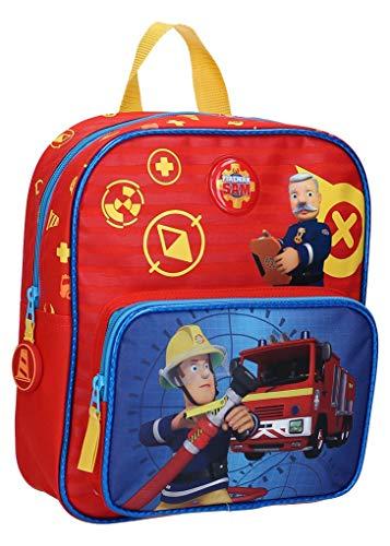 Ozabi – rugzak (tassen, schooltas, pennenetui, paraplu) brandweerman Sam Fantasie
