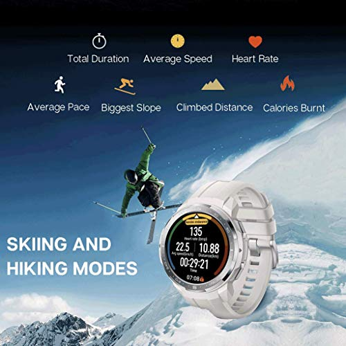 HONOR Watch GS Pro Smartwatch Orologio Fitness Uomo Donna 25 Giorni di Batteria, Monitoraggio SpO2 Frequenza Cardiaca e Stress,1.39'' AMOLED, GPS 5ATM Impermeabile Smart Watch, Nero