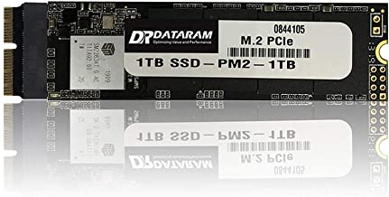 DATARAM 1TB M.2 M-Key PCIe NVMe SSD for 2013-16 MacBook, Mac Pro, Air, Mini, iMac