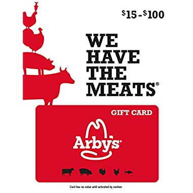 Arby's Gift Card $50