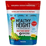 Healthy Height Kids Protein Powder (Vanilla) - Developed by Pediatricians - High in Protein...