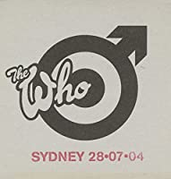 Live: Sydney 07/28/04 by Who