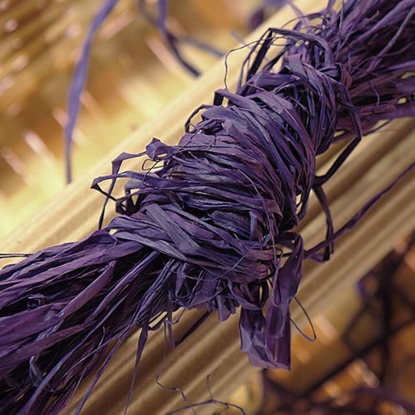 8oz Purple Raffia