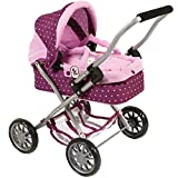 Bayer Chic 2000 555 29 - Kuschelwagen Smarty Dots Brombeere, lila/rosa