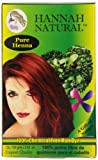 Best Henna Hair Dyes - Hannah Natural 100% Pure Henna Powder, 100 Gram Review
