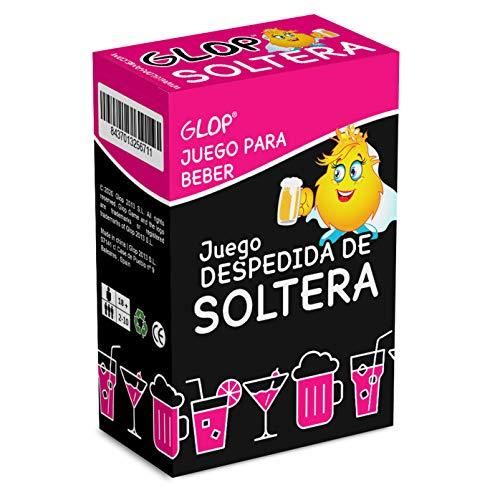 Glop Despedida de Soltera - Juegos para Despedida de Soltera - Juego para Beber - Ideas Originales para la Fiesta de la Novia - Bromas Divertidas
