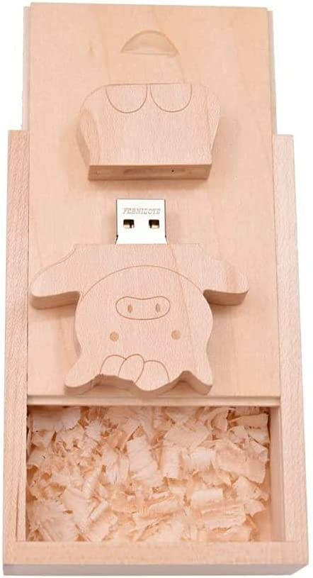 16GB USB Max 51% OFF 3.0 Flash Drive Memory Max 58% OFF Stick Box Wood Novelty with - Cu